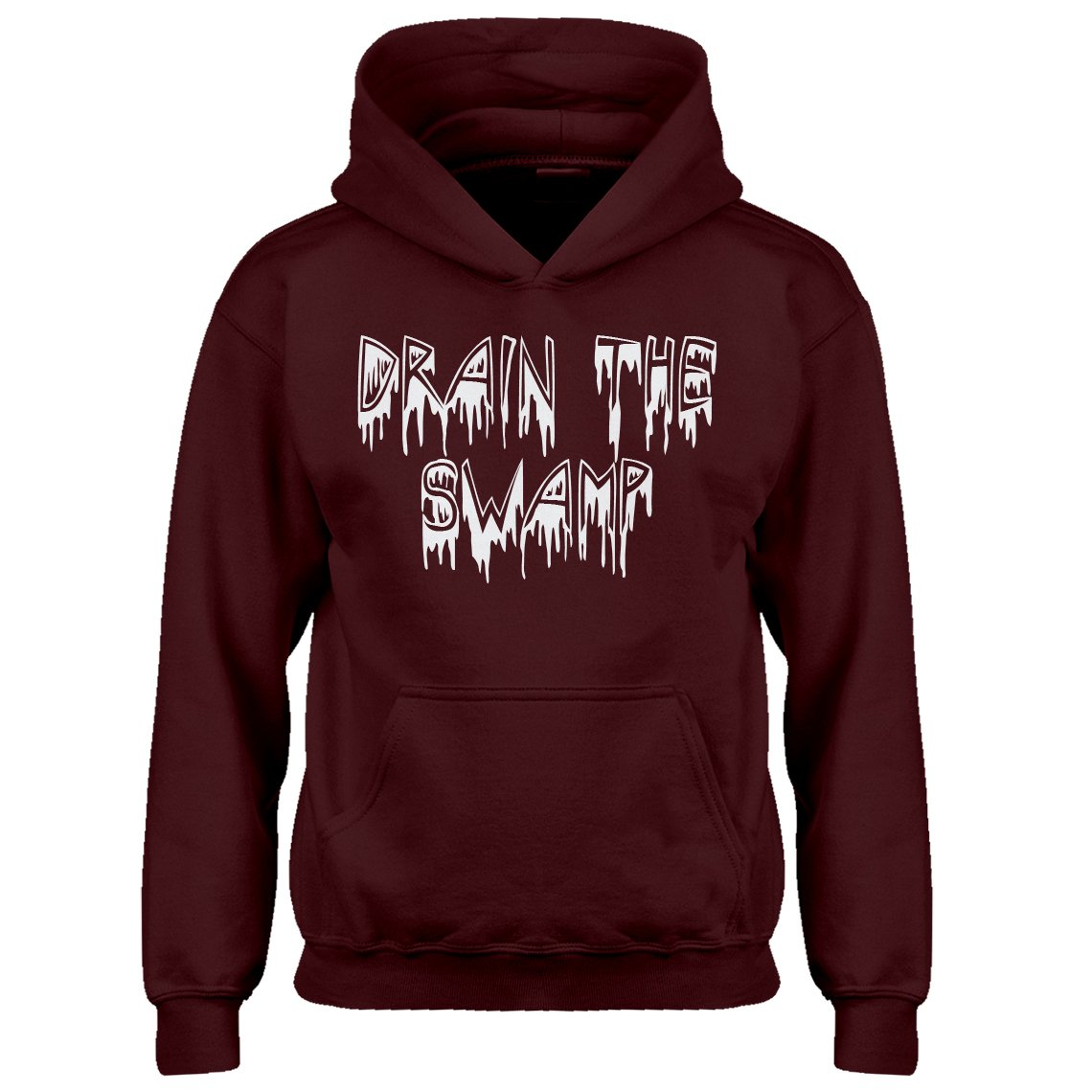 Indica Plateau Youth Drain The Swamp Kids Hoodie