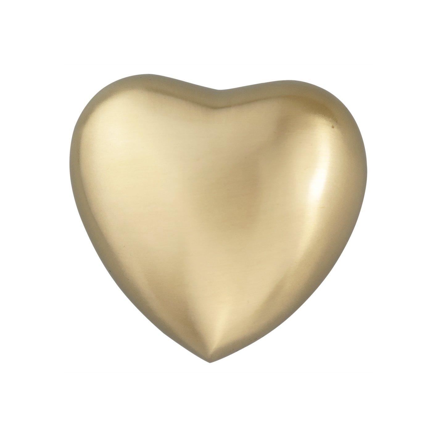 Classique Cœur Argenté Urne funéraire souvenir pour chien ou chat avec gravure personnalisée Love to Treasure