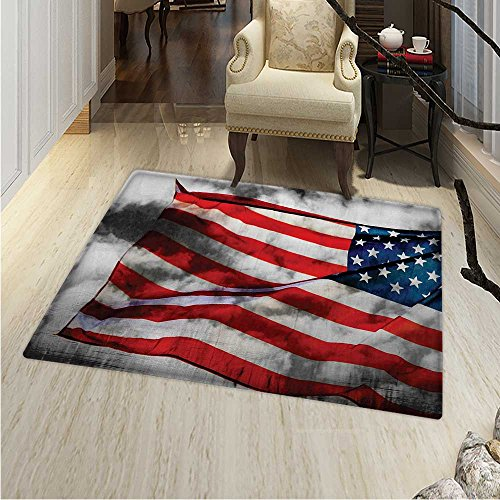 American Flag Customize Floor mats Home Mat Banner in The Sk