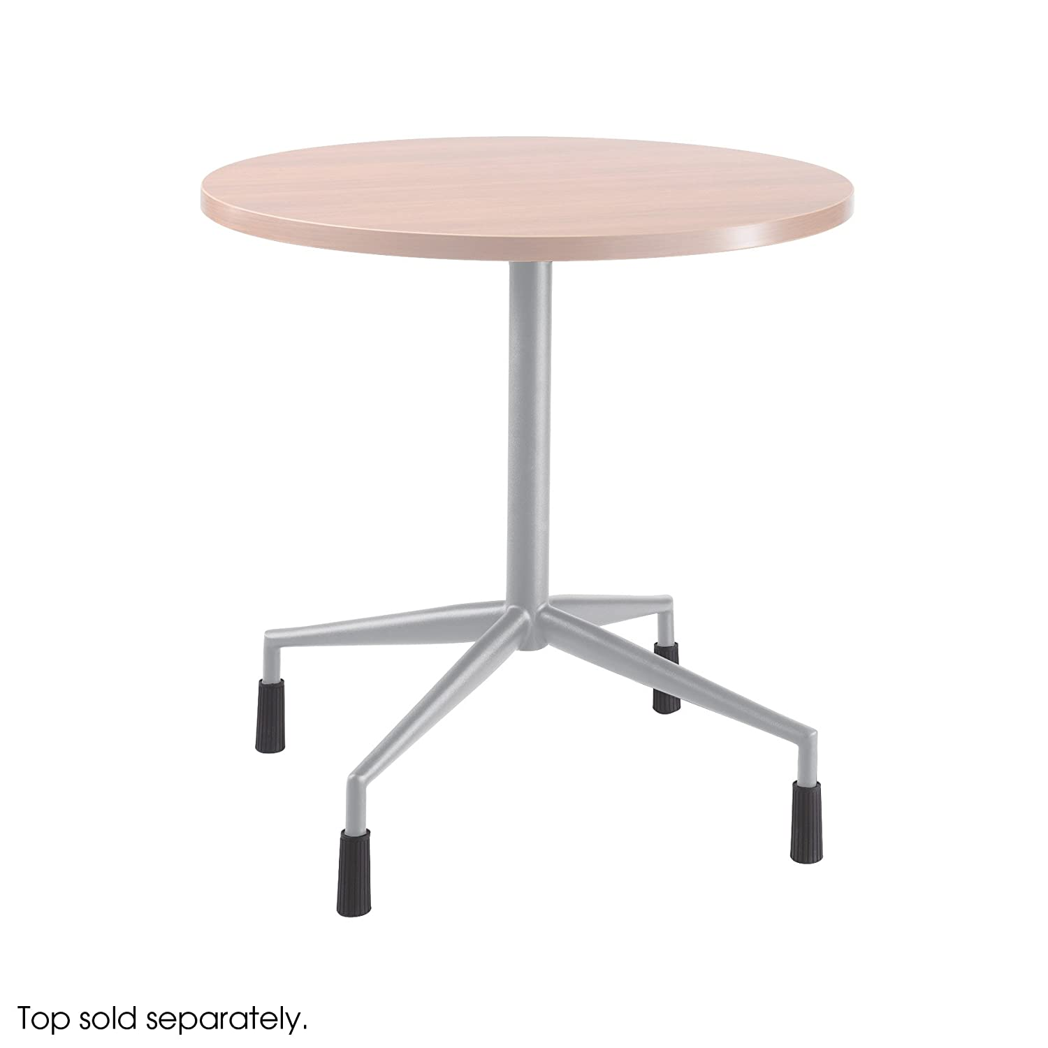 Black Top sold separately Safco Products 2656BL RSVP  Fixed Height Base with 4 Levelers