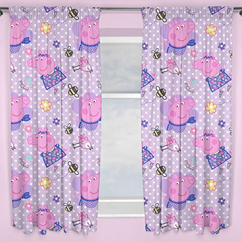 Peppa Pig Kids Happy Curtains 54