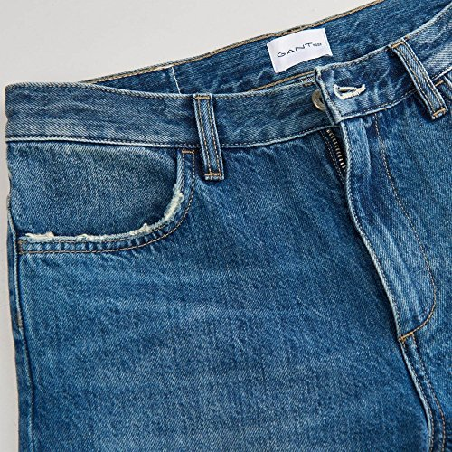 Semi Lache Indigo Lisire s 18 Womens Light Jeans Worn In 32 Gant S 8wFBqRSS