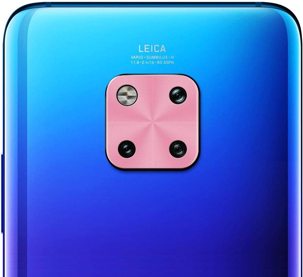 XHC Lens Protective Cover Enkay Hat-Prince Rear Camera Lens Metal Protection Cover for Huawei Mate20 Black Color : Pink