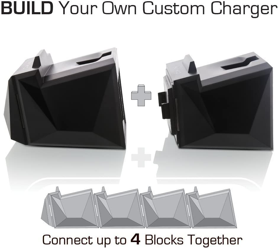 Nyko Charge Block Solo Playstation 4 Video Games Diagram
