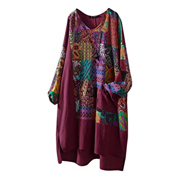 best sell in stock discount sale Longzjhd Femmes T-shirt En Lin De Coton Plus La Taille Blouse À ...