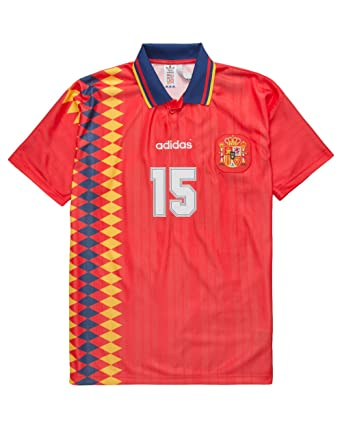 a86acc7af81 Image Unavailable. Image not available for. Color: adidas Originals Men's Spain  1994 Jersey ...