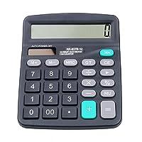 OSISTER7 Taschenrechner berechnen Commercial Werkzeug Akku Powered 12Digit elektronische rechnerische für Schule Home Office