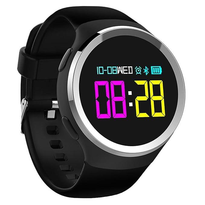 OOLIFENG Rastreador de ejercicios Reloj inteligente IP68 a prueba ...