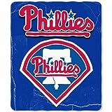 Philadelphia Phillies Lightweight Rolled Throw Blanket