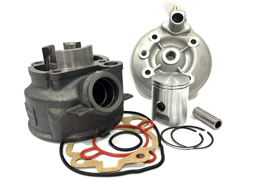 4Takt 50ccm 139QMA//QMB Xfight-Parts Zylinderkit komplett mit Kolben D39mm Ringe Bolzen,Clips Dichtg