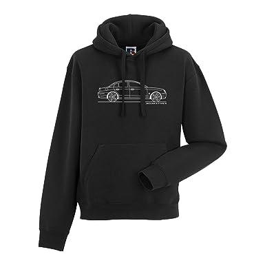 c57c73acc Amazon.com: Jaguar S-Type Men's Car Hoodie, Black: Clothing