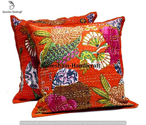 Amazon.com: Indian Kantha Decorative Home Decor Handmade ...