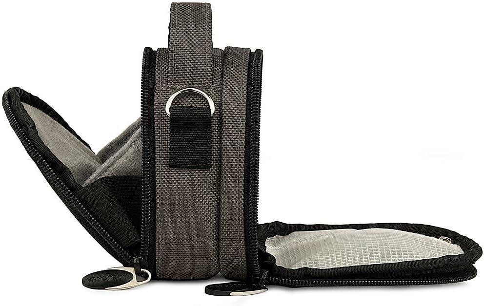 DSLR Camera Water Resistant Canvas Camera Case Bag for Nikon Coolpix L31 L32 L340 L610 L810 L830 L840 P530 Digital SLR Cameras
