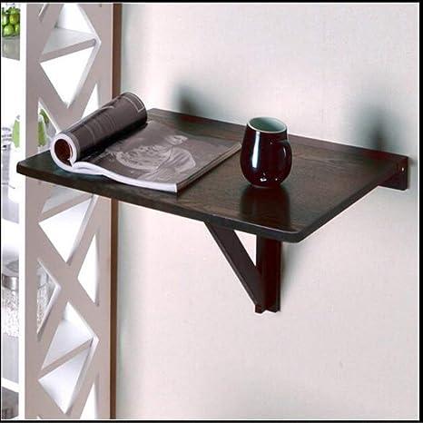 BinLZ-Table Mesa Plegable de Pared Madera Maciza Uso en el Hogar ...