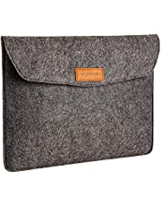 "AmazonBasics 13"" Felt Laptop Sleeve, Charcoal"