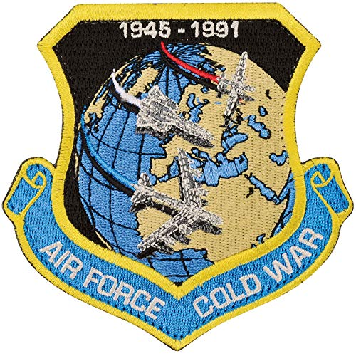 Medals of America Air Force Cold War Patch Hook ()