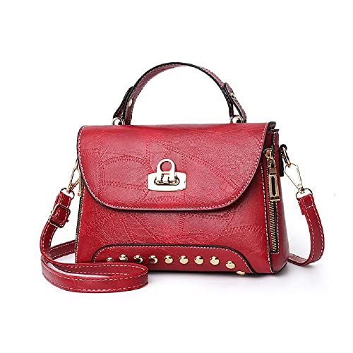 4340d3ad201688 zhongningyifeng Ladies Designer Crossbody Bag Shoulder Bag for Women  Leather Small Purses Handbags Rivet Fashion (red): Amazon.ca: Shoes &  Handbags