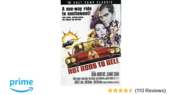 Amazon com: Hot Rods to Hell (DVD): Dana Andrews, Jeanne
