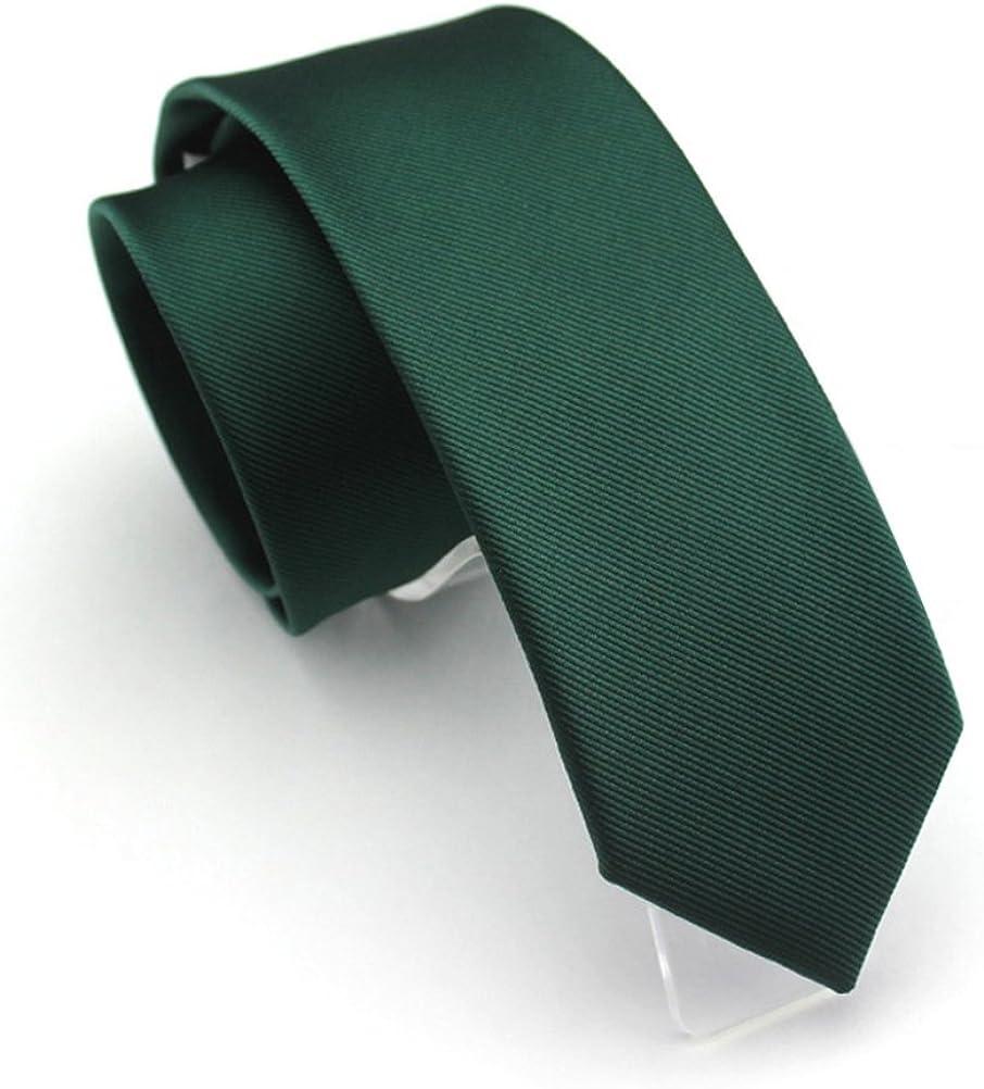 Stylish Classic Solid Color Plain Tie Jacquard Woven Men/'s Suits Ties Necktie