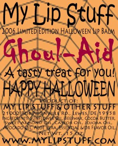 My Lip Stuff- GHOUL-AID (Raspberry Lemonade flavor) LIMITED EDITION HALLOWEEN LIP BALM ()