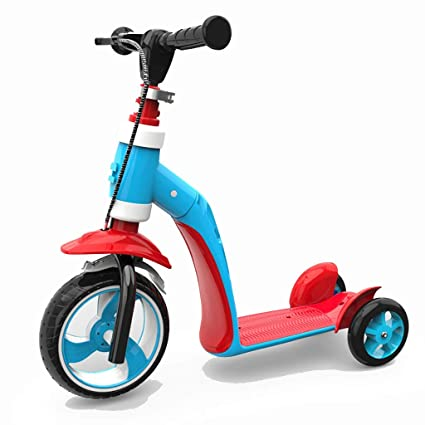 WYQ Scooter para niños pequeños, rotar, Sentarse o pararse ...
