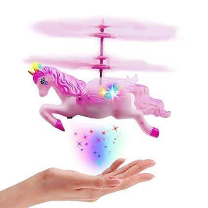 Amazon.com: Juguetes de unicornio voladores para 8 9 10 11 ...