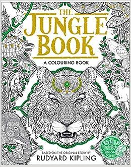 the jungle book colouring book macmillan classic colouring books amazoncouk rudyard kipling 9781509823925 books - Colouring Books