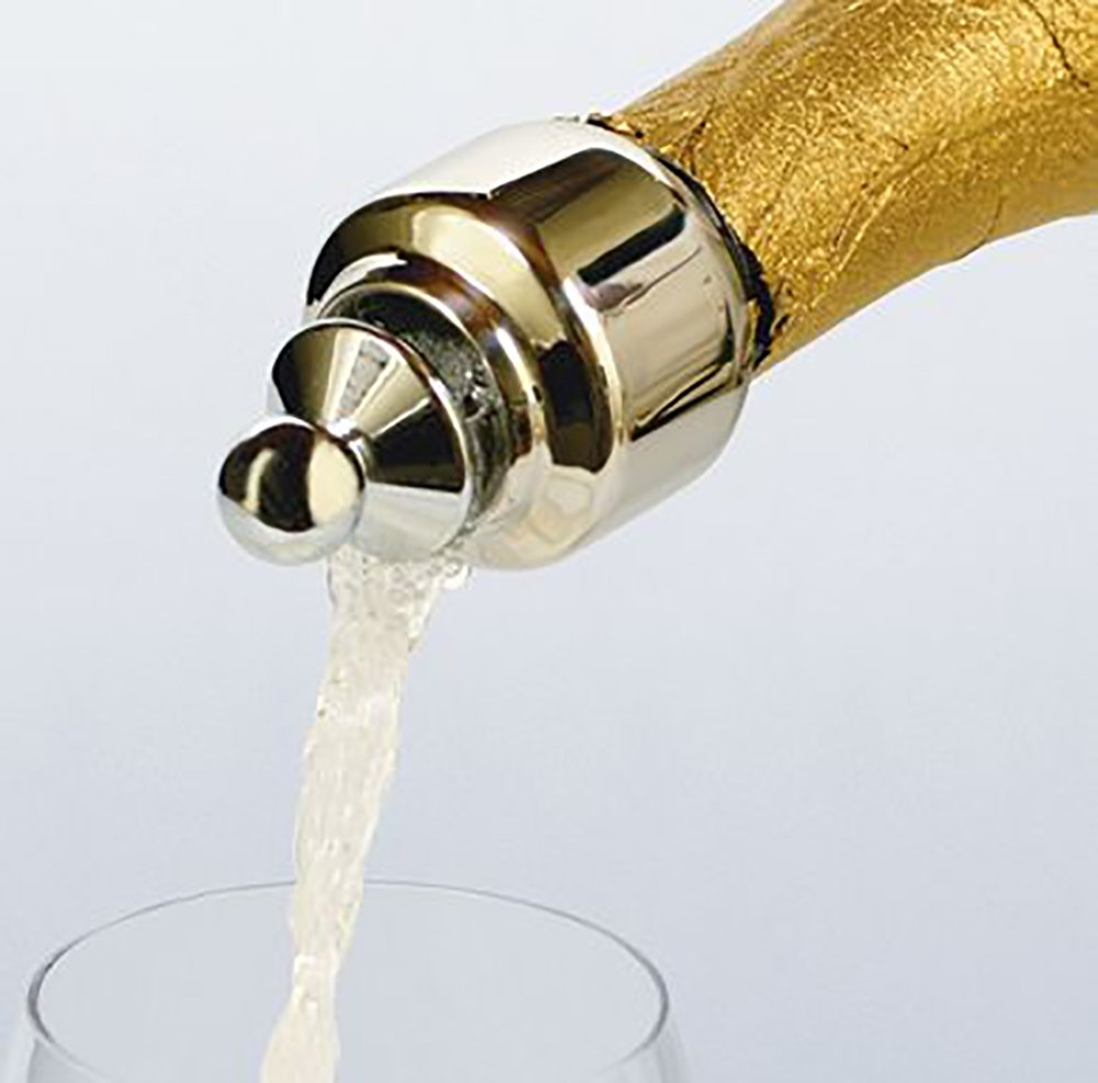 Franmara Automatically Closing Champagne Pourer and Stopper