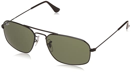257fa5ff30e2 Image Unavailable. Image not available for. Colour  Ray-Ban UV protected  Square Men Sunglasses ...
