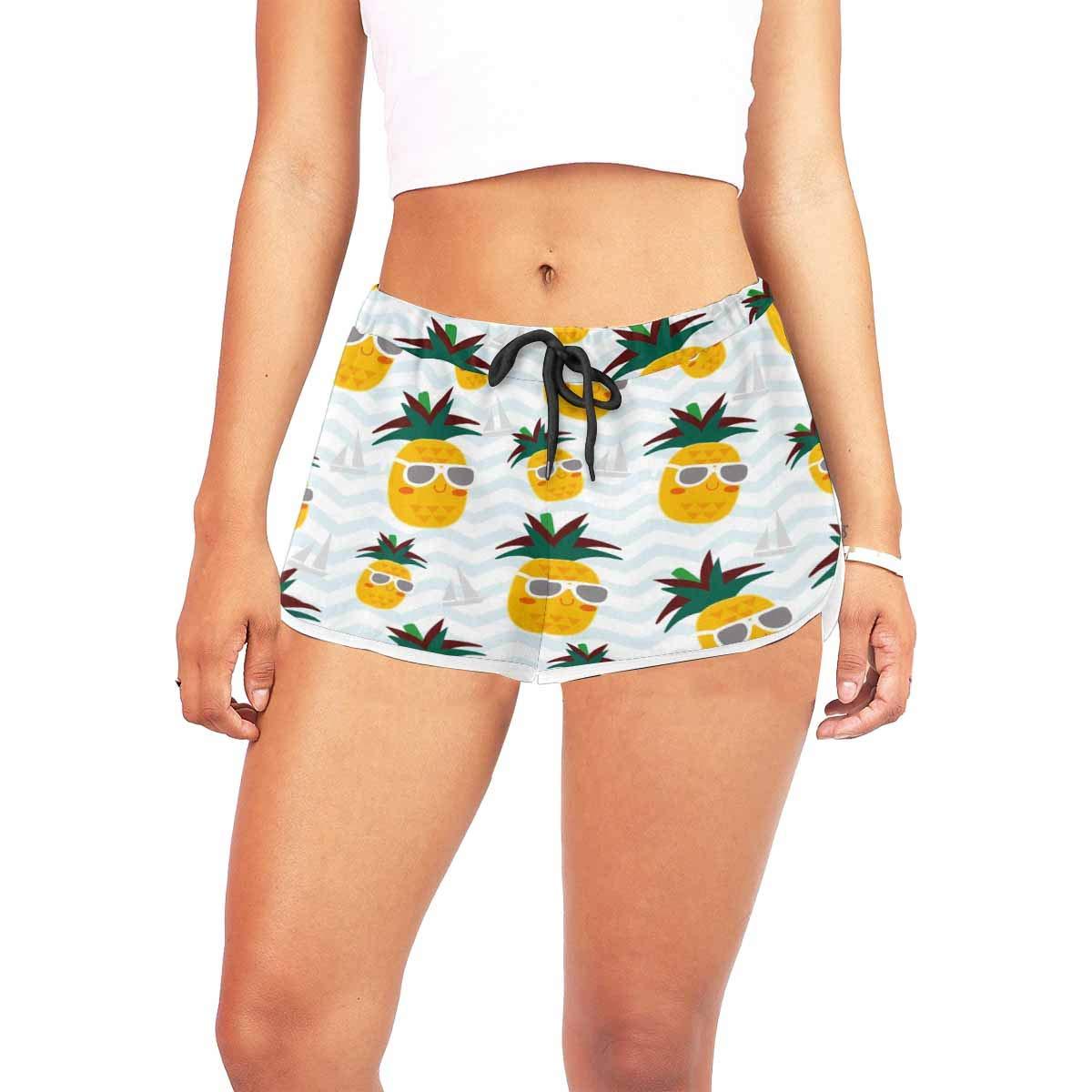Running Workout Athletic Beach Shorts InterestPrint Novelty Design Womens Shorts