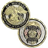 Police Officer St Michael Law Enforcement Challenge Coin