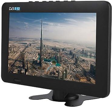 TV Digital portátil DVB-T2, 1080P HD 16: 9 Soporte TV Digital analógica ATV, Entrada de Video AV/Tarjeta TF/USB/Enchufe de Auriculares, televisión estéreo para automóvil de Alta sensibilidad (7in): Amazon.es: Electrónica