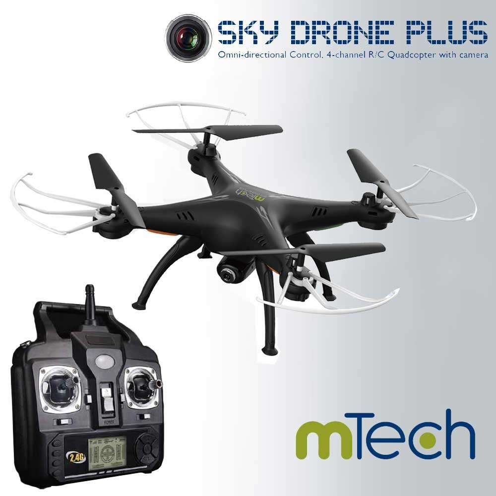 Sky Drone Plus Black by M:Tech: Amazon.es: Juguetes y juegos
