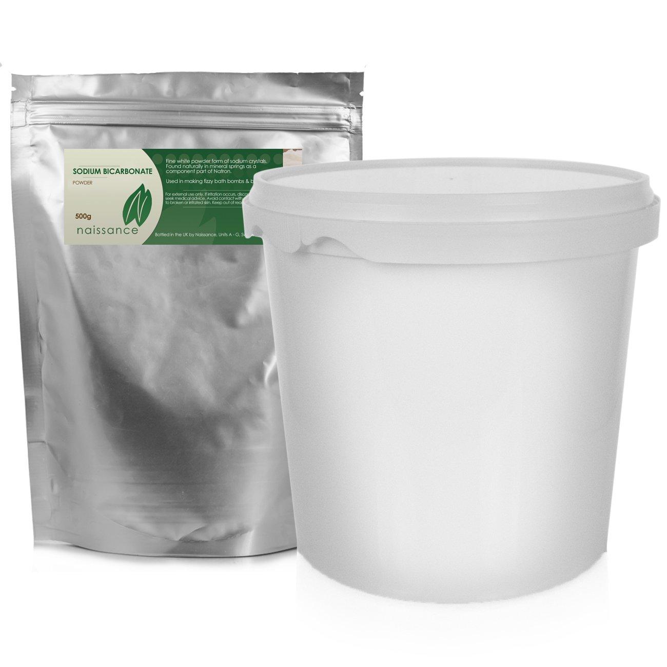 Naissance bicarbonato de sodio con almacenamiento Pot 500 G 100 ...