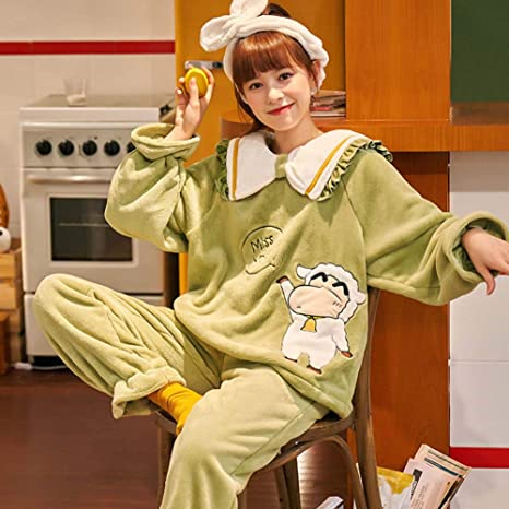 ZWLXY Señora Caliente 2 Piezas Pijamas Fijado para El ...