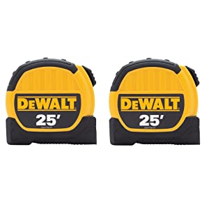 DEWALT 25 ft. Tape Measures (2-Pack)