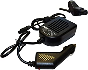 Power4Laptops DC Adapter Laptop Car Charger Compatible with Dell Inspiron 8100, Dell Latitude C400, Dell Latitude C500, Dell Latitude C510, Dell Latitude C600