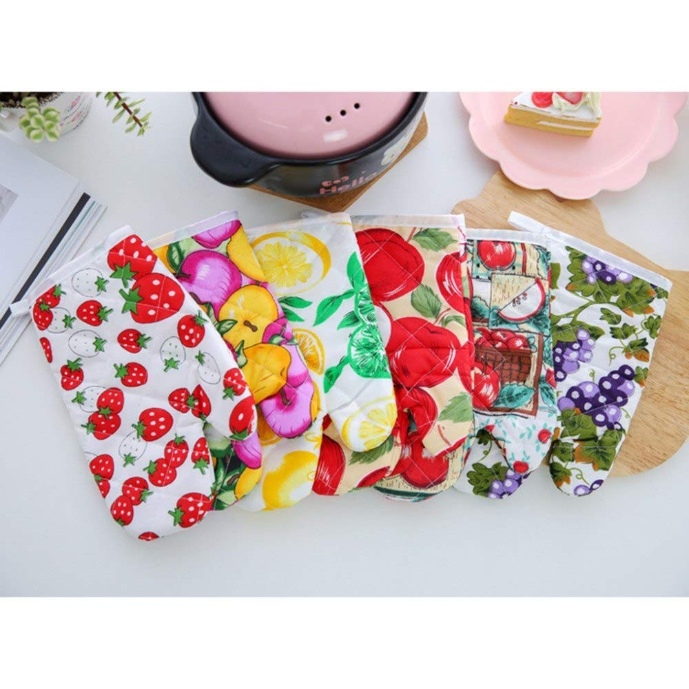Havota Oven Mitts & Oven Sleeves - Mitts Sauna Household Glove Oven Oven T Kitchen Silicon Glove Pot - Arrived Cooking Microwave Oven Mitts Insulated Non Slip Glove Temperature Color Random
