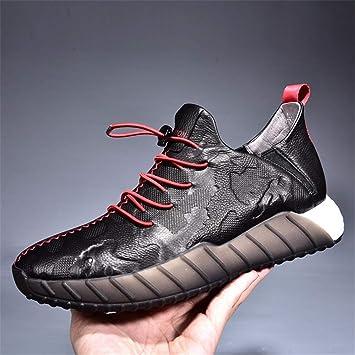 YAN Zapatos de los Hombres Zapatillas de Correr Zapatillas de Deporte Ligeras Zapatillas de Deporte con amortiguación Casual Zapatillas de Deporte con ...