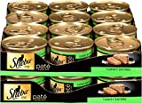 SHEBA Pate in Natural Juices Turkey Entrée Canned Cat Food 3 Ounces (Pack of 24)