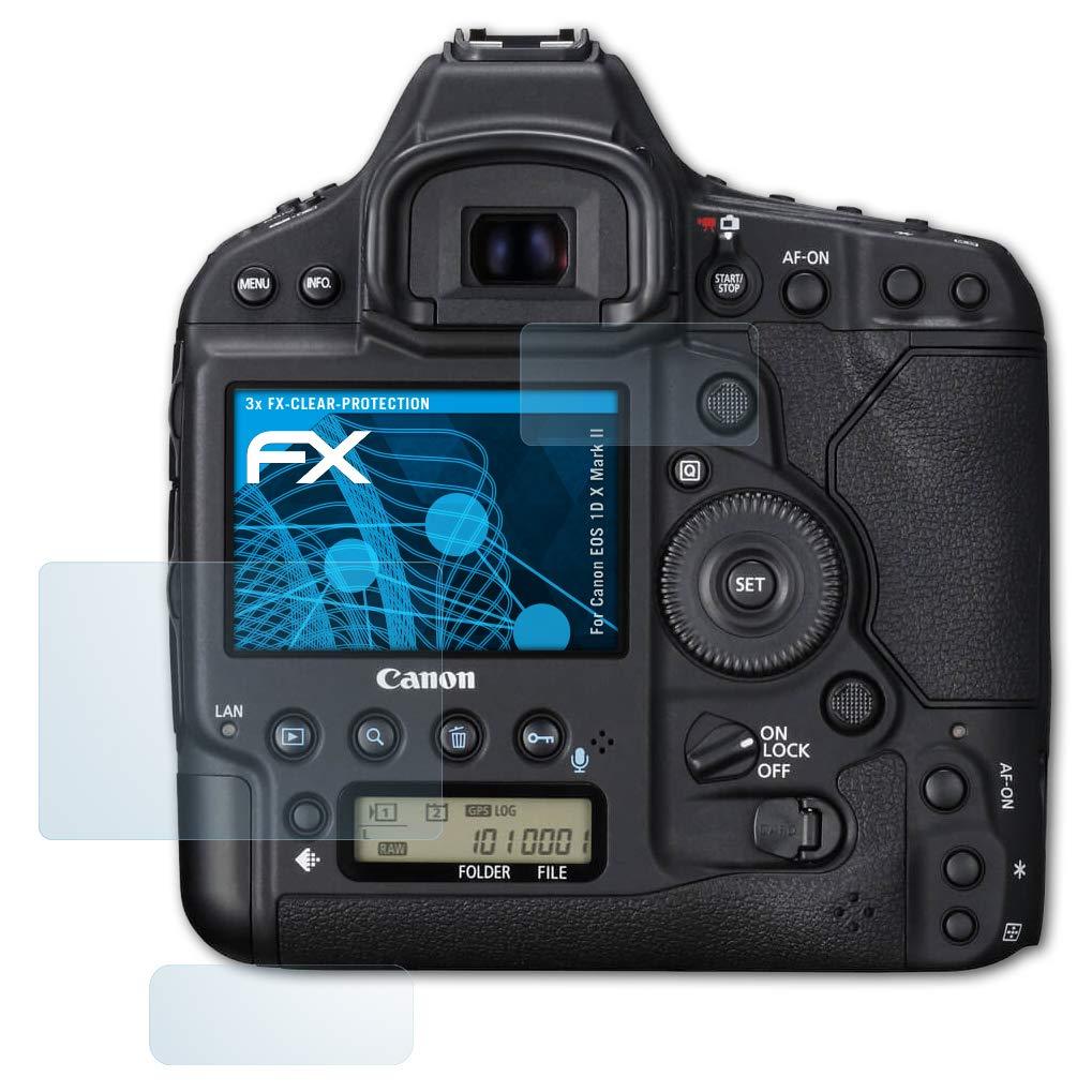 atFoliX Lámina Protectora de Pantalla Compatible con Canon EOS 1D ...
