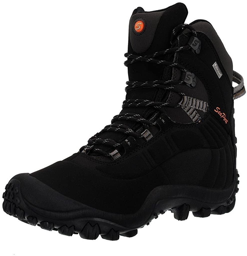Manfen Men s Thermator Mid-Rise Waterproof Hiking Boots Trekking Outdoor Boots