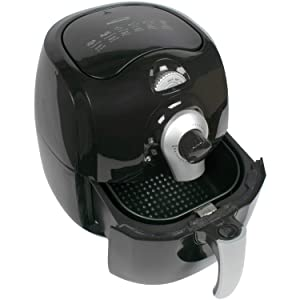 Brentwood BTWAF350B 3.7-Quart Electric Air Fryer (Black),