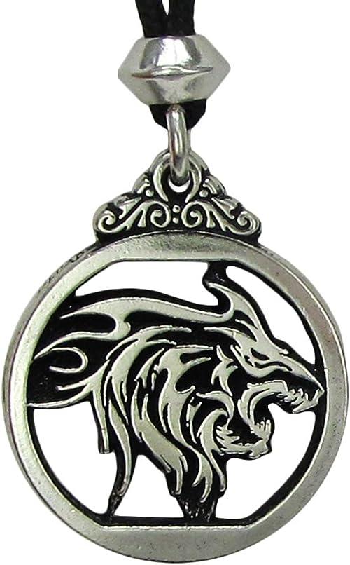 Wolf spirit guide The Werewolf   Handmade pewter pendant