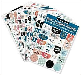 Essentials Moms Planner Stickers (Set of 575 Stickers ...