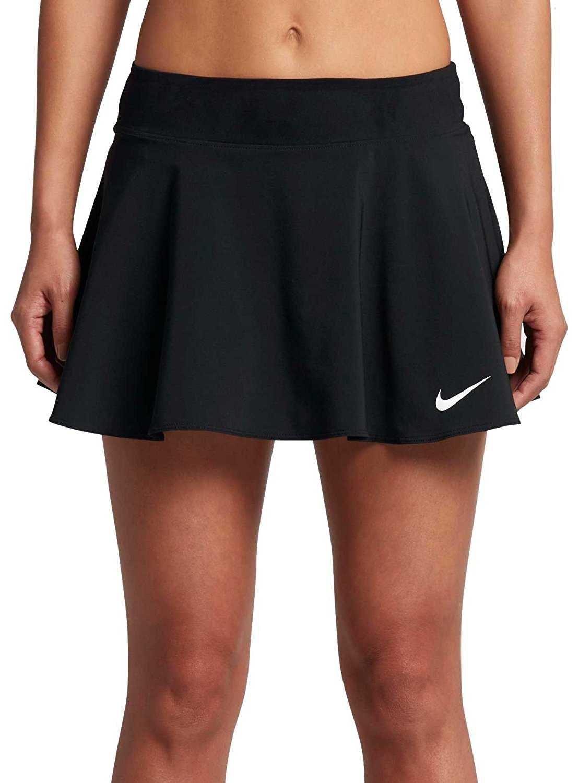 Nike Womens Nike Court Pure Tennis Skirt Black/Black 830616-010 Size Small