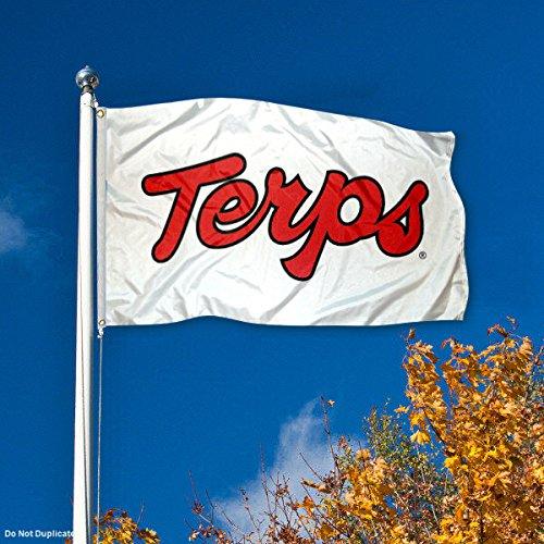 Maryland Terrapins UM Terps University Large College Flag