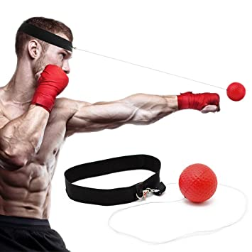 Reflex Boxing Ball for Training to Improve Speed and