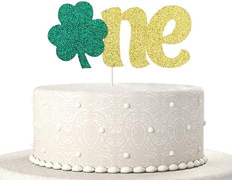 Phenomenal Amazon Com One Cake Topper Baby 1St Birthday Cake Toppers Birthday Cards Printable Trancafe Filternl