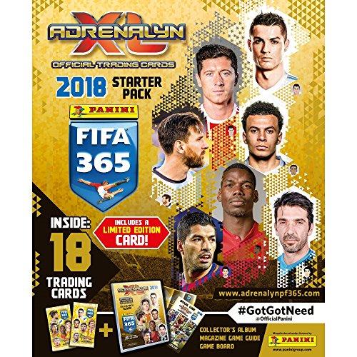 2017-18 PANINI ADRENALYN FIFA 365 10 PACKS (90 CARDS) LOOK FOR